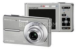 FE-360 8MP Digital Camera (Silver)