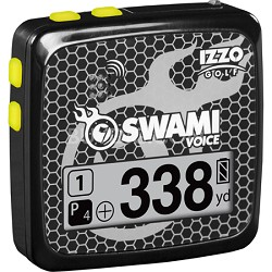 A43309 Swami Voice Golf GPS/Rangefinder - Black