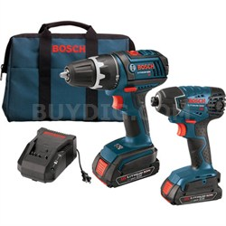 18V 2-Tool Kit/Comp. Tough Drill Driver, Imp.Driver, and 2 SlimPacks - OPEN BOX