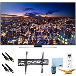 "60"" Ultra HD 4K Smart 3D TV Wi-Fi Plus Tilt Mount & Hook-Up Bundle - UN60HU8550"