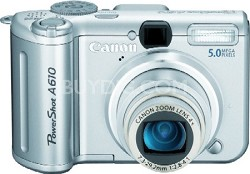 Powershot A610 Digital Camera