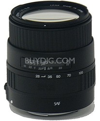28-105mm f/4.0-5.6 UC Zoom Lens f/Sigma SA Autofocus - OPEN BOX