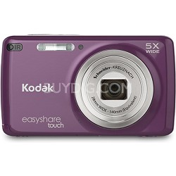 """EasyShare M577 Touch 14MP 3.0"""" Touch Screen Purple Digital Camera"""