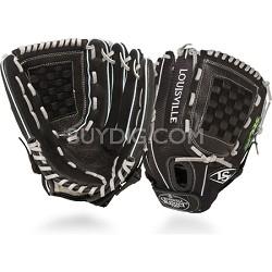 12 Inch FG Zephyr Softball Infielders Glove Left Hand Throw - Black