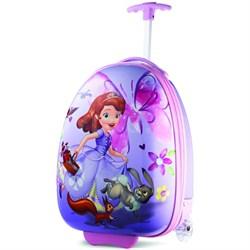 "18"" Upright Kids Disney Themed Hardside Suitcase - Sofia the First"