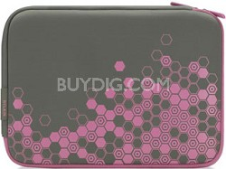 F8N101-SGF-DL 12.1-Inch Sleeve for Netbooks (Gray/Flamingo Pink)