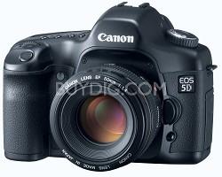 EOS 5D Digital SLR Camera Body, USA Warranty