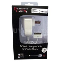 Wall Charger for iPhone/iPod/iPad - WALL-ICHARGE