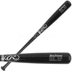 "Adult Black Ash Wood Baseball Bat 32"""