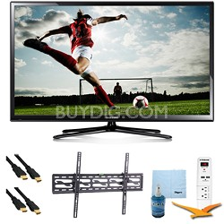 "64"" Full HD 1080p Plasma HDTV 600Hz Plus Tilting Mount & HookUp Bundle PN64H5000"