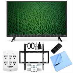 D32h-C0 - 32-Inch 60Hz HD 720p LED HDTV Slim Flat Wall Mount Bundle
