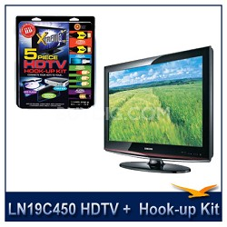 LN19C450 HDTV + High-performance HDTV Hook-up & Maintenance Kit