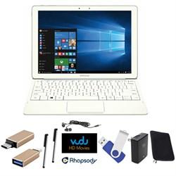 "Galaxy TabPro S 12"" 128GB (Wi-Fi) White Streaming Essentials 16GB Bundle"