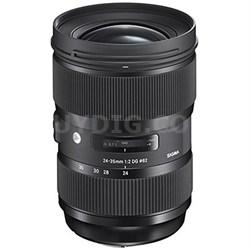 24-35mm F2 DG HSM Standard-Zoom Lens for Nikon Cameras