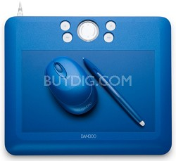 Bamboo Fun Medium Blue Tablet 30.00 Mail In Rebate