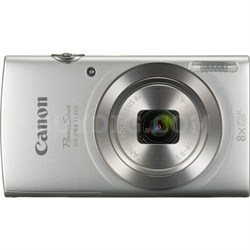 PowerShot ELPH 180 20MP 8x Optical Zoom HD Video Silver Digital Camera