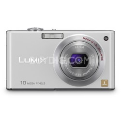 DMC-FX37W - Stylish Compact 10 Megapixel Digital Camera (White)