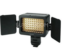 LED battery video light