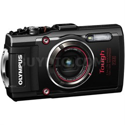TG-4 16MP 1080p HD Waterproof Digital Camera w/ 3-Inch LCD (Black) - Refurbished