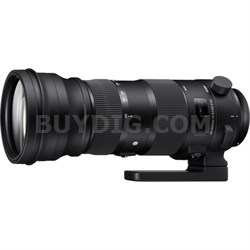 150-600mm F5-6.3 DG OS HSM Telephoto Zoom Lens (Sports) for Canon EF Cameras