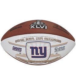 Super Bowl XLVI Limited Edition Champion Game Ball