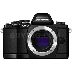 OM-D E-M10 Mark II Micro Four Thirds Digital Camera Body (Black) Refurbished