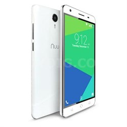 "5.5"" HD LTE Smartphone in White - N5L US WHT"