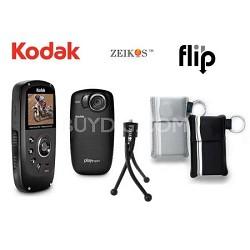 Playsport Zx5 Waterproof Pocket HD Video Camera Bundle