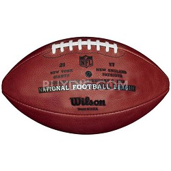 Super Bowl 46 Official Game Ball Football - Patriots vs Giants with Score
