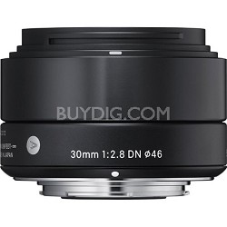 30mm F2.8 EX DN ART Lens for Sony E mount (Black)