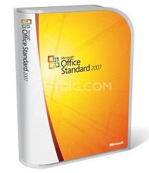 Office 2007 Standard Windows-32 English Academic Edition