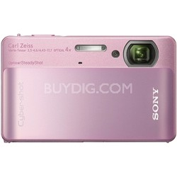 Cyber-shot DSC-TX5 10.2 MP Digital Camera (Pink) - OPEN BOX