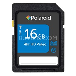 P-SDHC16G10-EFPOL 16GB Polaroid High Speed SDHC Class 10