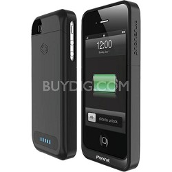 PS-ELITE-IP4-B Elite Battery Case for iPhone 4 and 4S (Black)