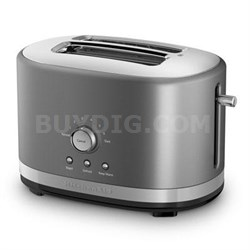 2-Slice Toaster with High Lift Lever in Contour Silver - KMT2116CU