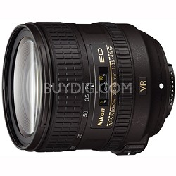 AF-S NIKKOR 24-85mm f/3.5-4.5G ED VR Lens - 2204 - FACTORY REFURBISHED