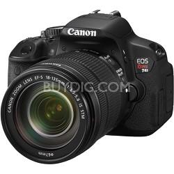 EOS Rebel T4i 18MP SLR Camera 18-135mm IS STM Lens Kit w/ Vari-Angle Touchscreen