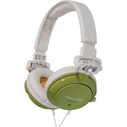 RP-DJS400-G DJ Street Model Headphones (Green)