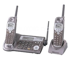 KX-TG5110M 5.8GHz Expandable Phone with Extra Handset   (1 Base+2 Handsets)