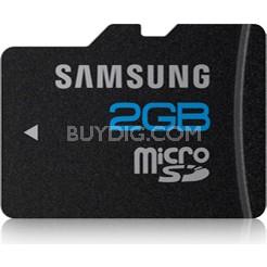 microSD High Speed 2 GB Waterproof and Shockproof Memory Card