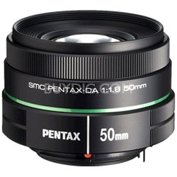 SMC DA 50mm F1.8 Lens for Pentax DSLRs - 22177