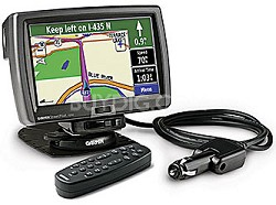 "Street Pilot 7500 Automotive GPS Navigation Receiver w/ 7"" Touch LCD + DR Cable"