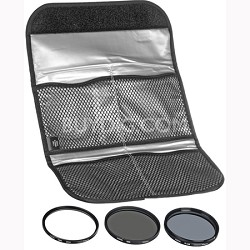 43mm Digital Filter Kit With UV, Circular Polarizer, NDX8 - HK-DG43