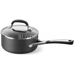 1-qt. Simply Hard-Anodized Nonstick Sauce Pan - SA8701HP