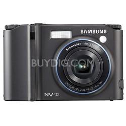 """NV40 10MP 2.5"""" LCD Digital Camera (Black)"""