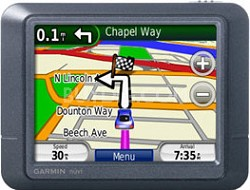 Nuvi 255 Preloaded City Navigator With Lifetime Map Update