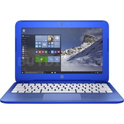"11.6"" Stream 11-r014 Intel Celeron N3050 2GB DDR3L SDRAM Notebook Blue REFURB"