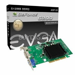 GeForce 6200  512MB DDR2 AGP Graphics Card (512-A8-N403-LR)