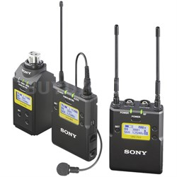 Lavalier Microphone Wireless System w/ Bodypack TX, Plug-On TX & Portable RX