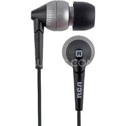 HP820AL Whipz Noise Isolating 9 MM Stereo Earbuds (Aluminum)